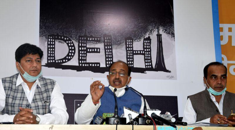 दिल्ली में बढ़ते प्रदूषण को लेकर केजरीवाल बिलकुल भी गंभीर नहीं हैं – विजय गोयल