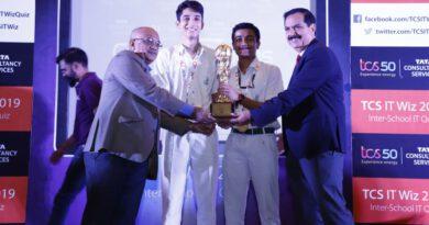 दिल्ली में आयोजित टीसीएस आईटी विज 2019 का विजेता बना डीपीएस नोएडा स्कूल
