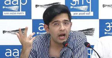 राघव चड्डा ने भाजपा पर लोगो को बेघर करने का लगाया आरोप