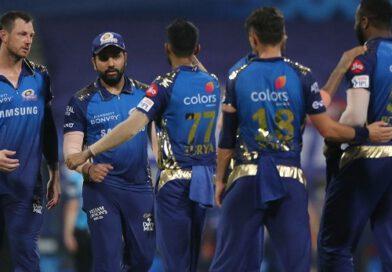मुंबई इंडियंस ने कोलकाता नाइट राइडर्स को आठ रनों से हराया